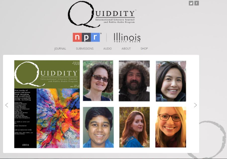 Featured in Quiddity